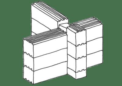 Anslutning innervägg